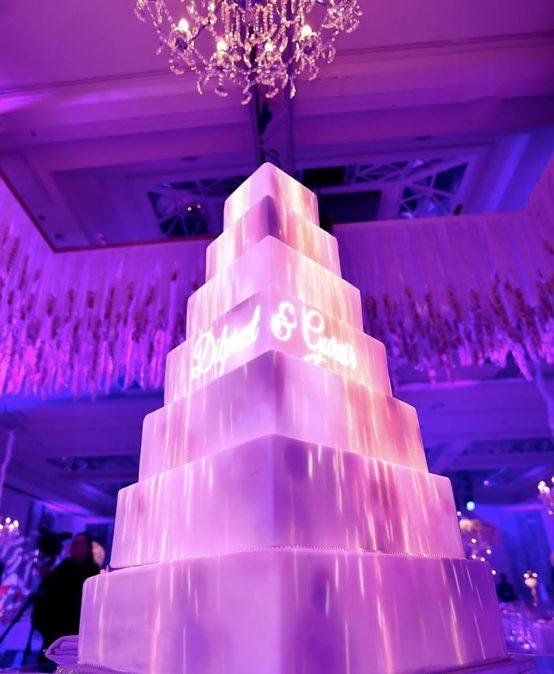 Cake mapping per un matrimonio Top