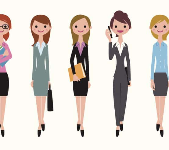 Dress code for success women