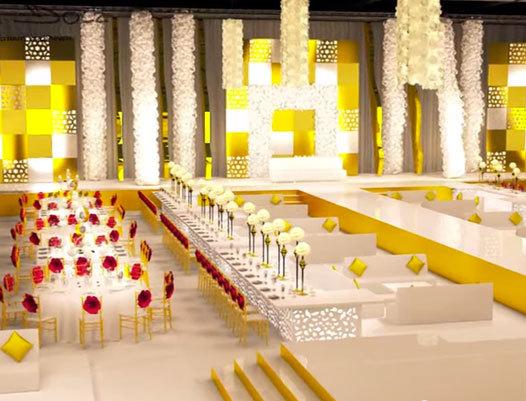 Allestire un evento wedding a Dubai