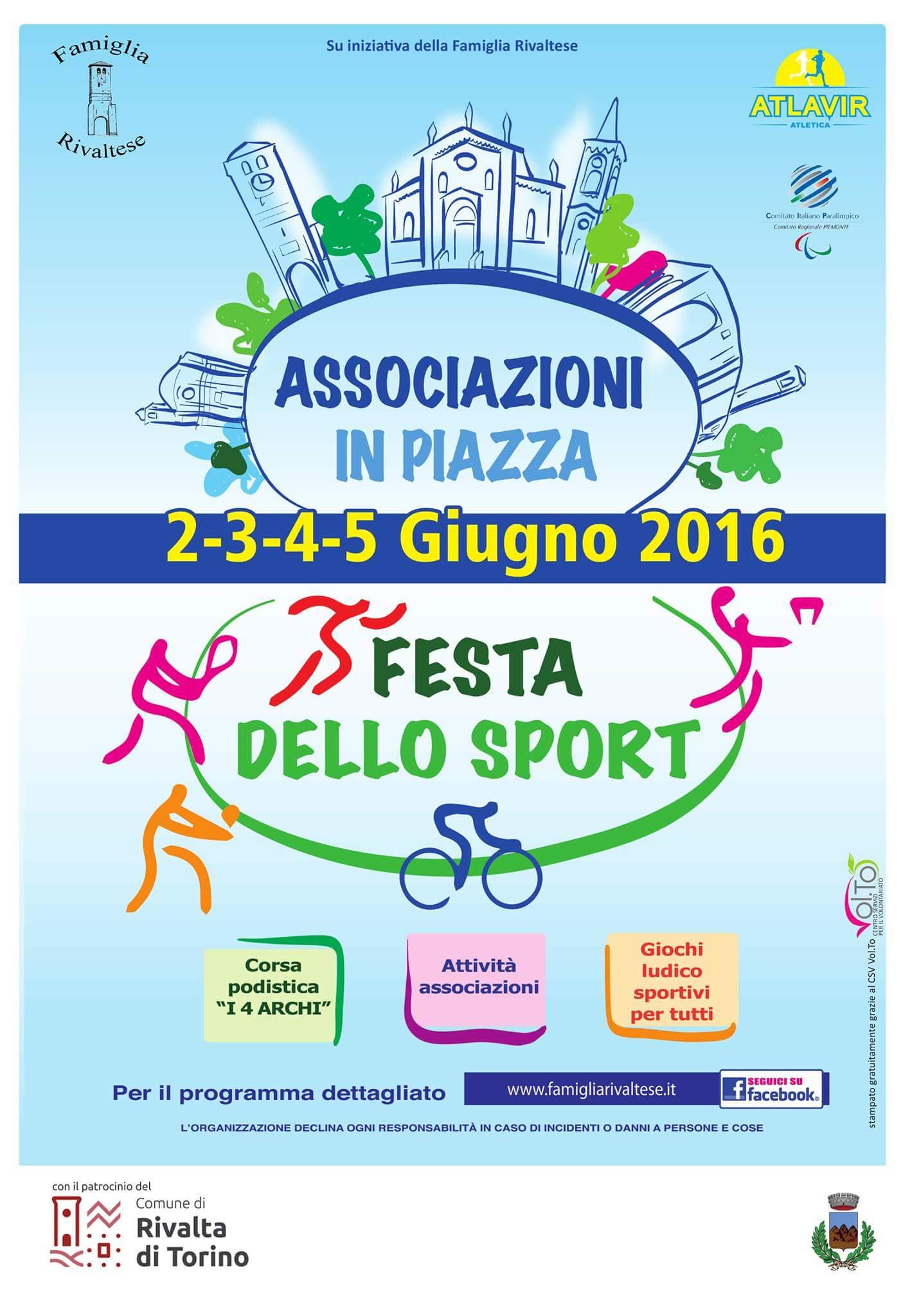 Festa della repubblica: Associazioni in piazza a Rivalta
