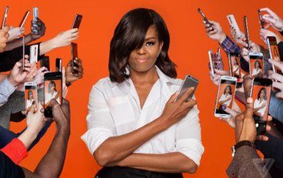 Una first lady su snapchat
