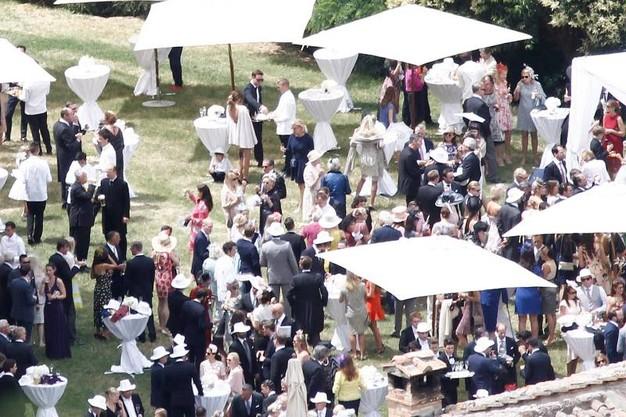VIP tedeschi a nozze nella terra del vino Nobile di Montepulciano.